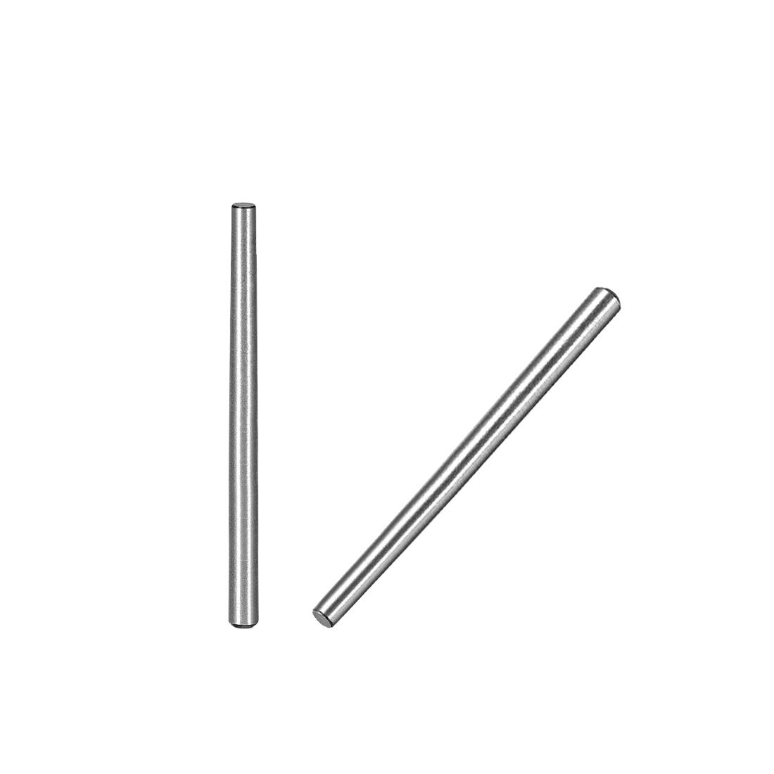 45# Carbon Steel GB117 60mm Length 3mm Small End Diameter 1:50 Taper Pin 20Pcs