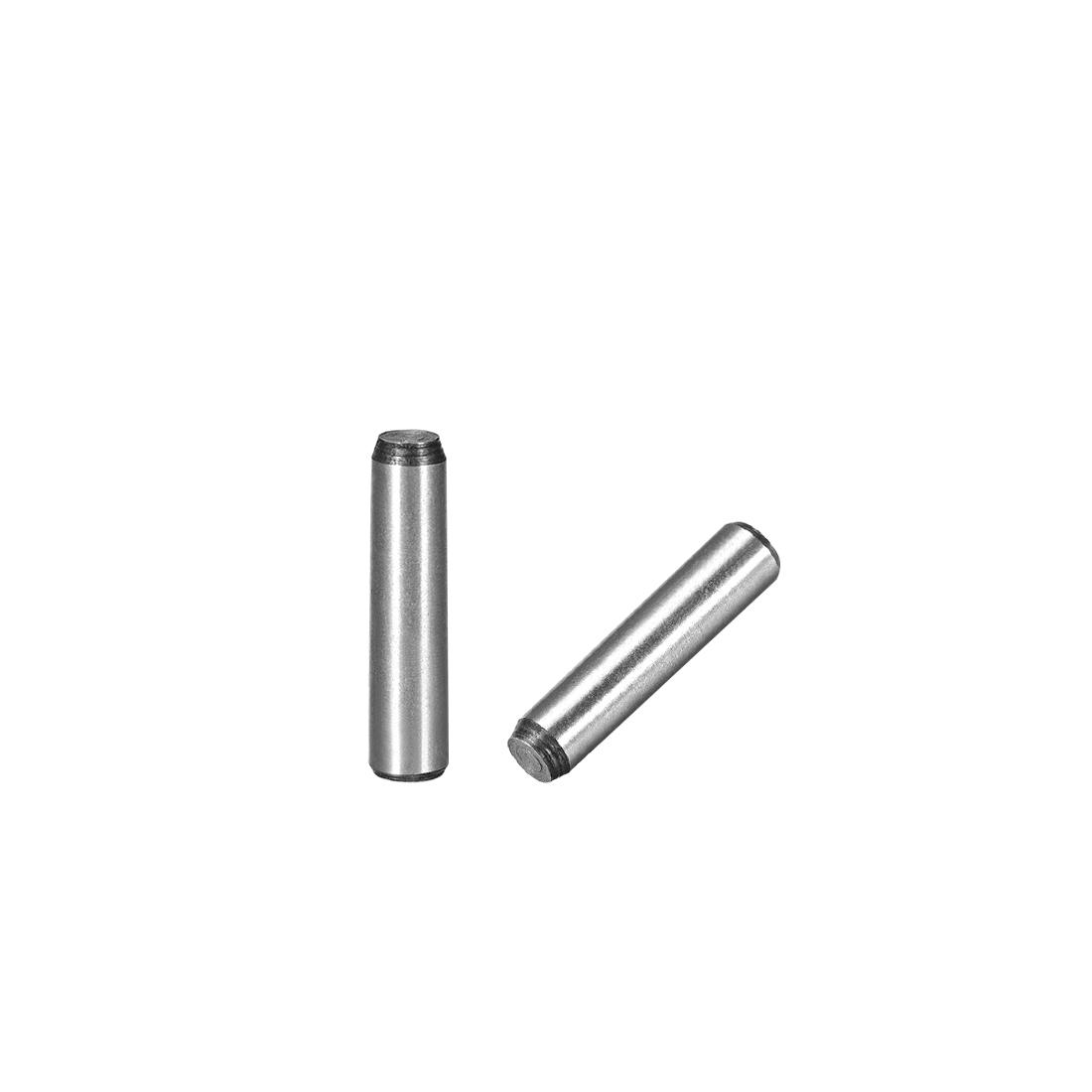 45# Carbon Steel GB117 25mm Length 6mm Small End Diameter 1:50 Taper Pin 5Pcs