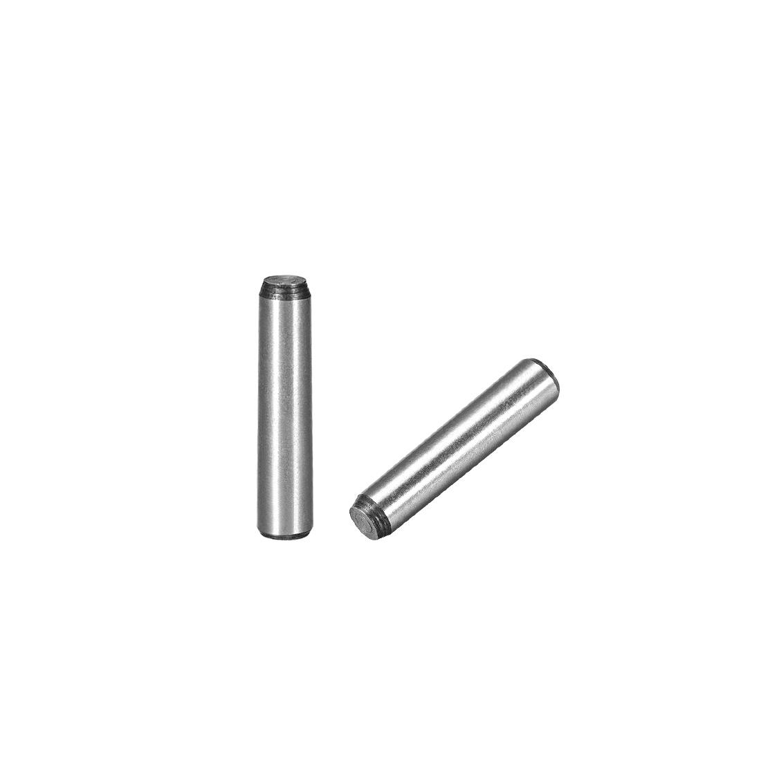 45# Carbon Steel GB117 30mm Length 6mm Small End Diameter 1:50 Taper Pin 10Pcs