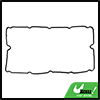 Black Rubber Automotive Value Cover Gasket Seal for Ford Transit MK6 MK7