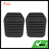Pair Black Rubber Pedal Pad for Ford Transit MK6 MK7 Connect 6789917 94BB7A624AA