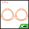 2Pcs 3 inch Copper Header Exhaust Collector Gaskets for SBC BBC 302 350 454 383