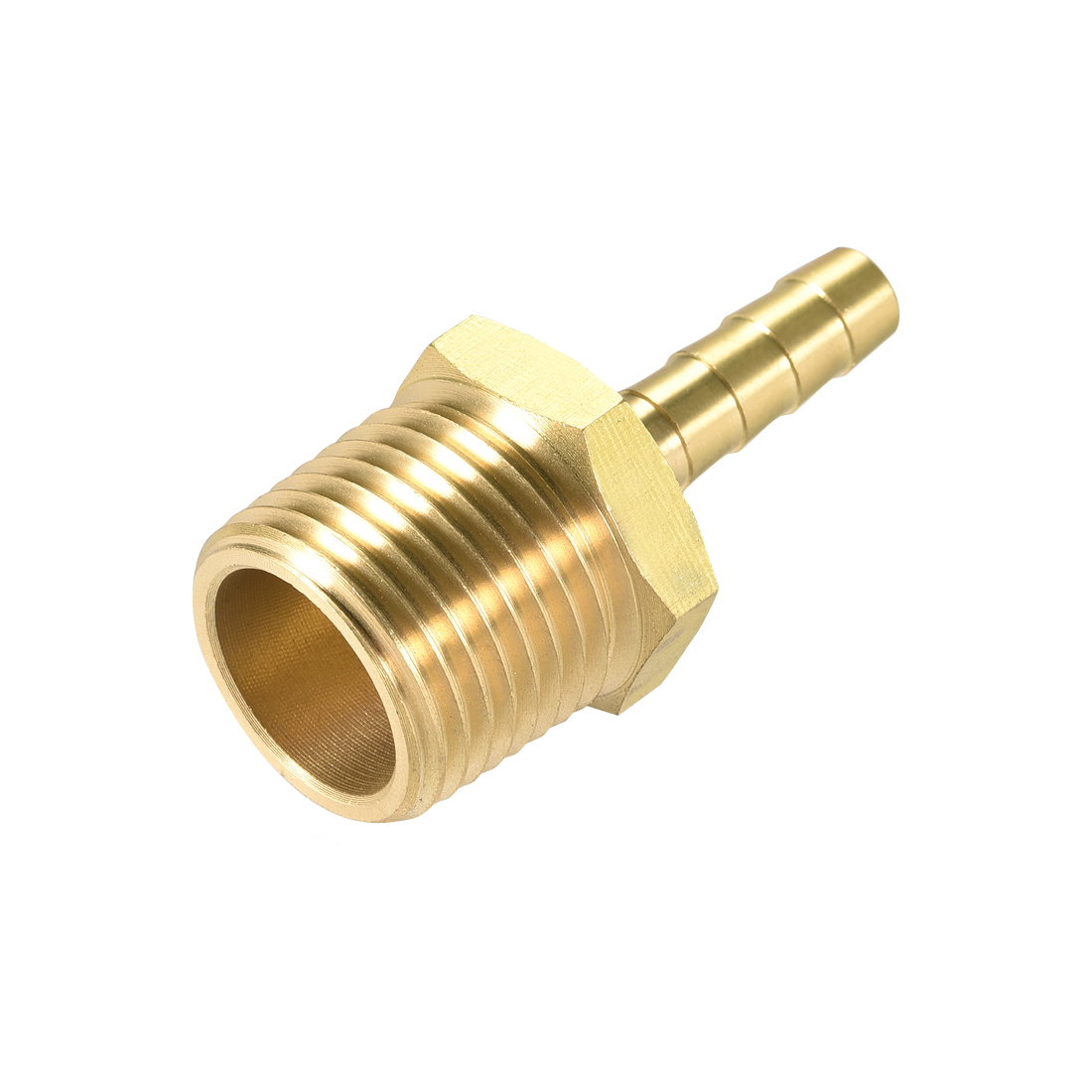 Brass Barb Hose Fitting Connector Adapter 1/4inch Barbed x 1/2 NPT Male Pipe