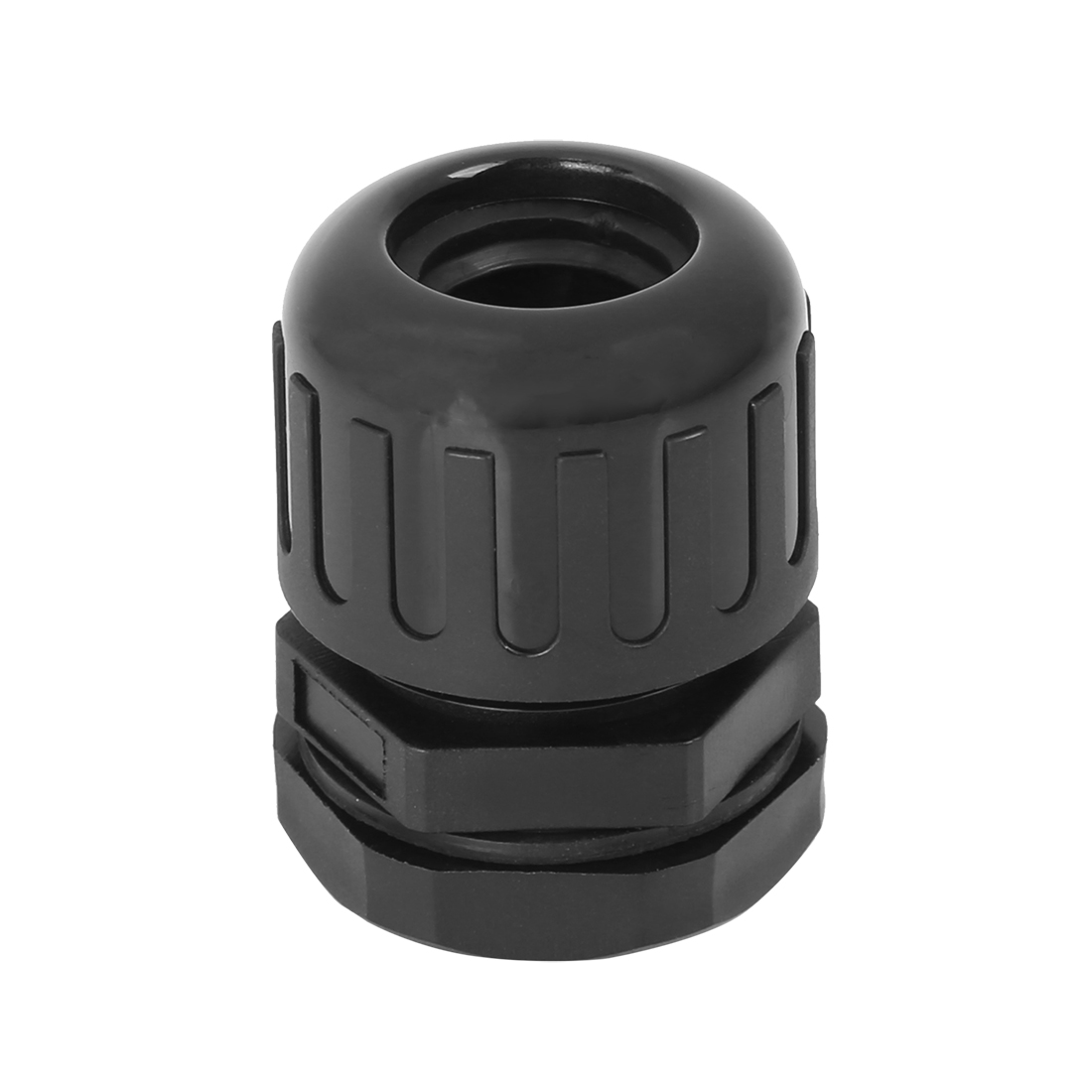 Cable Gland Waterproof Wire Gland Adjustable Corrugated Tube Connectors Black