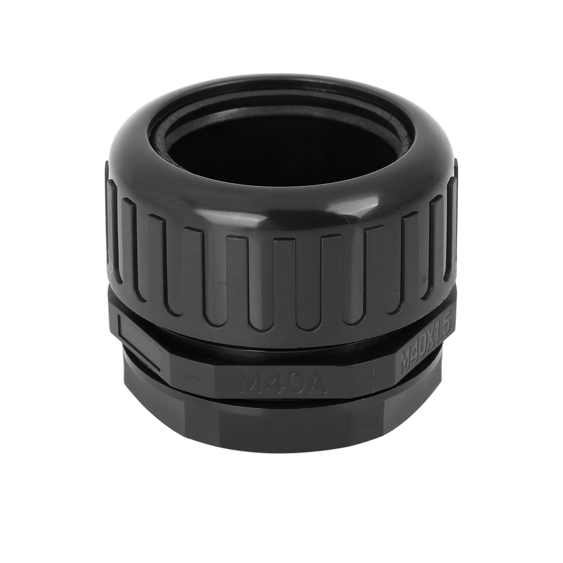 Cable Gland Nylon Plastic Connectors with Lock Nut and Gaskets M40x1.5