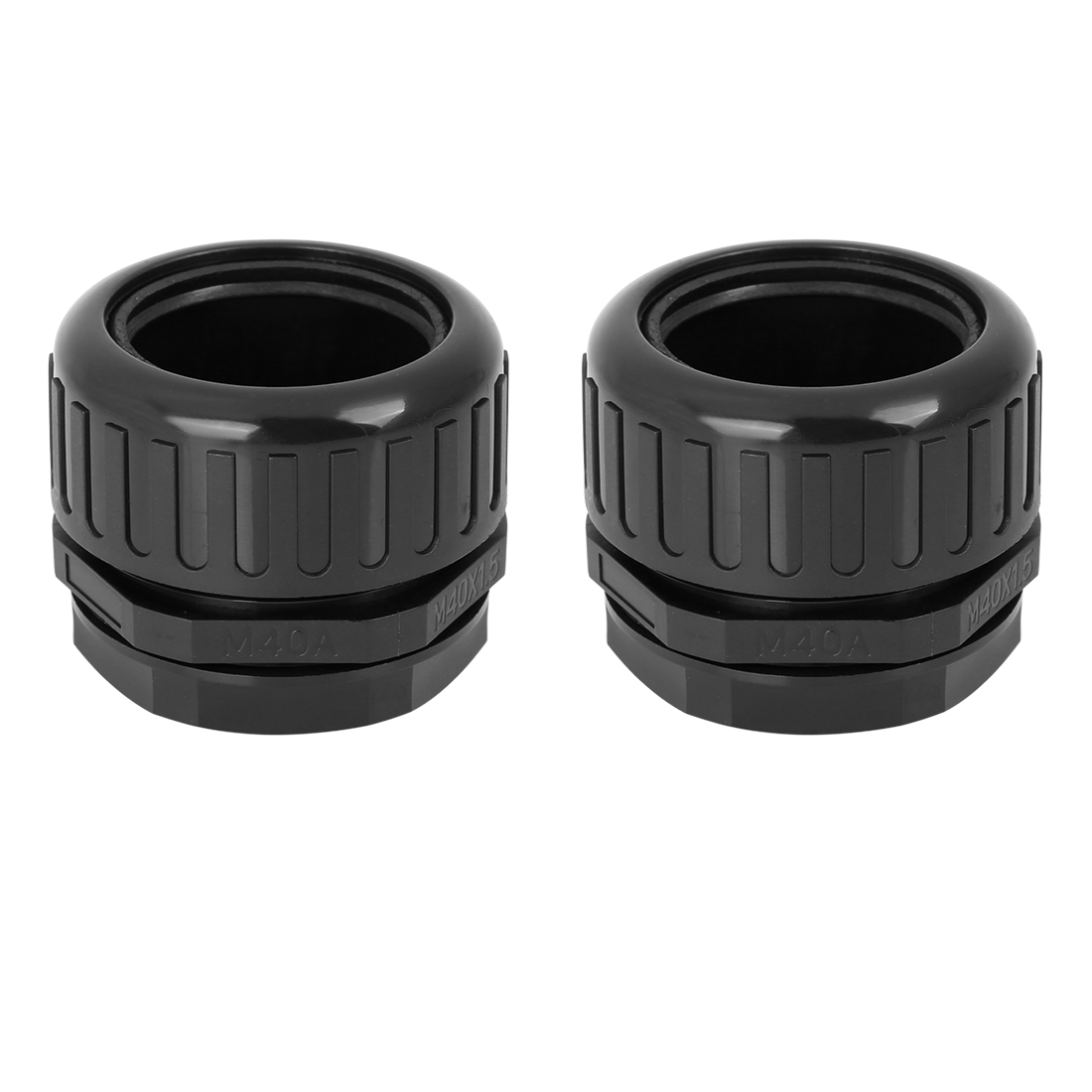 2pcs Cable Gland Wire Gland Waterproof Adjustable Corrugated Tube Connectors