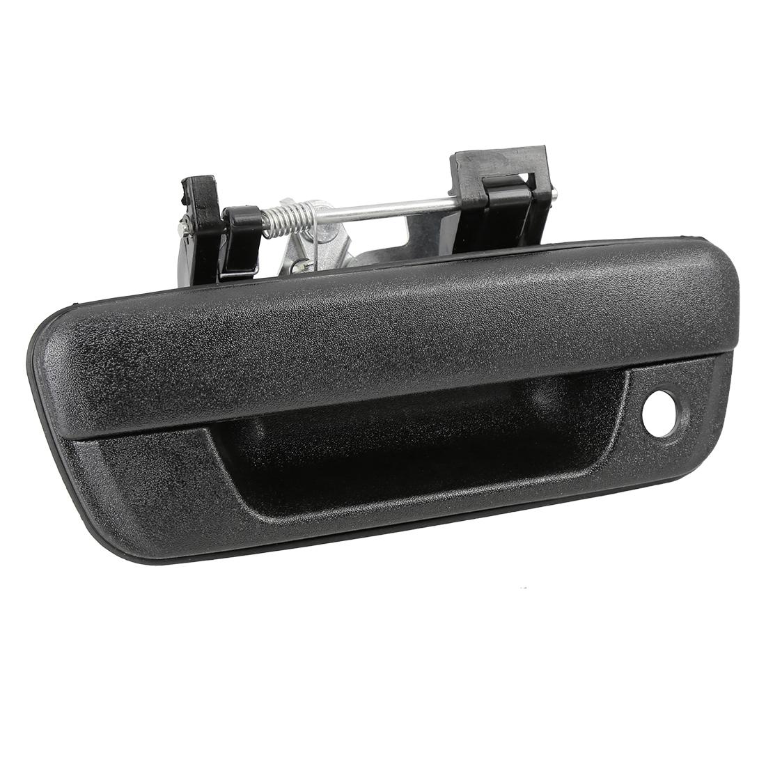 Car Tailgate Handle Bezel Trim Rear Door Handle for 2004-2012 Chevrolet Colorado