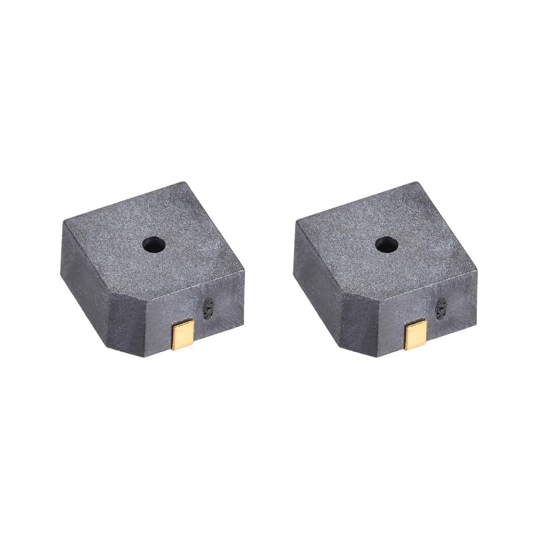 85dB 3.3V Passive Electronic Buzzer Electromagnetic Beep Piezo Alarm Ringer 2Pcs