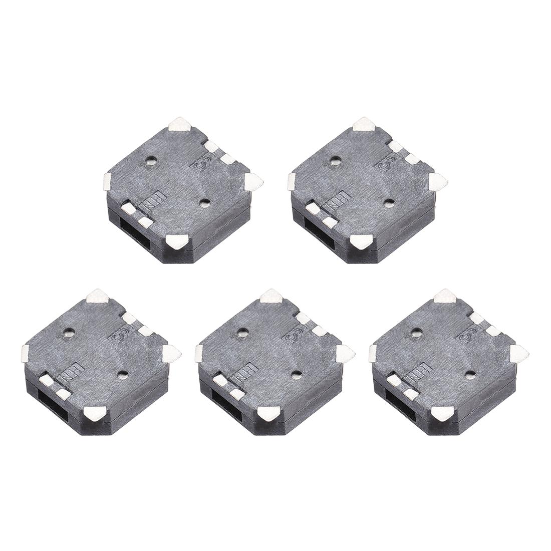 85dB 3.6V Passive Electronic Buzzer Electromagnetic Beep Piezo Alarm Ringer 5Pcs