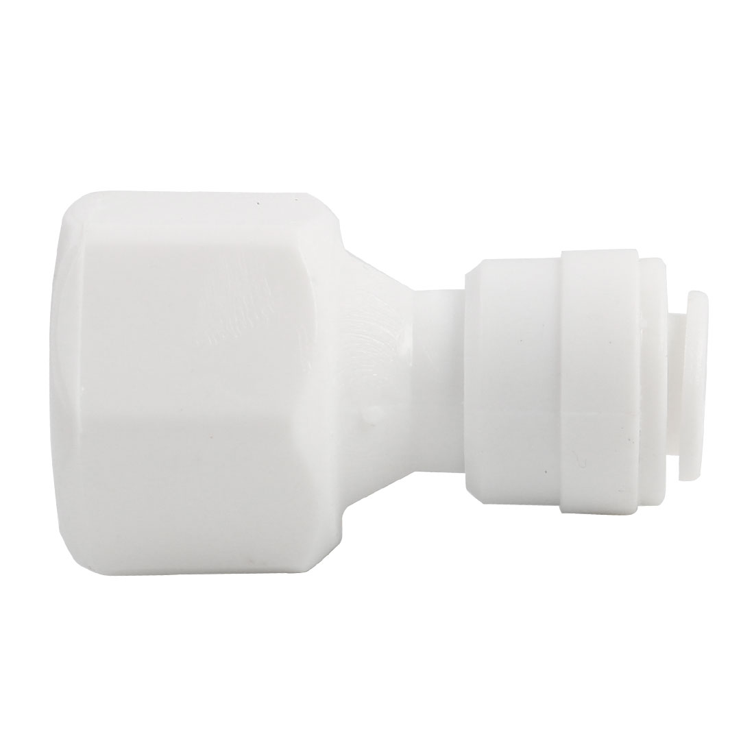 5/8 Inch BSP Female to 1/4 Inch OD Straight Quick Connect Tube Fitting