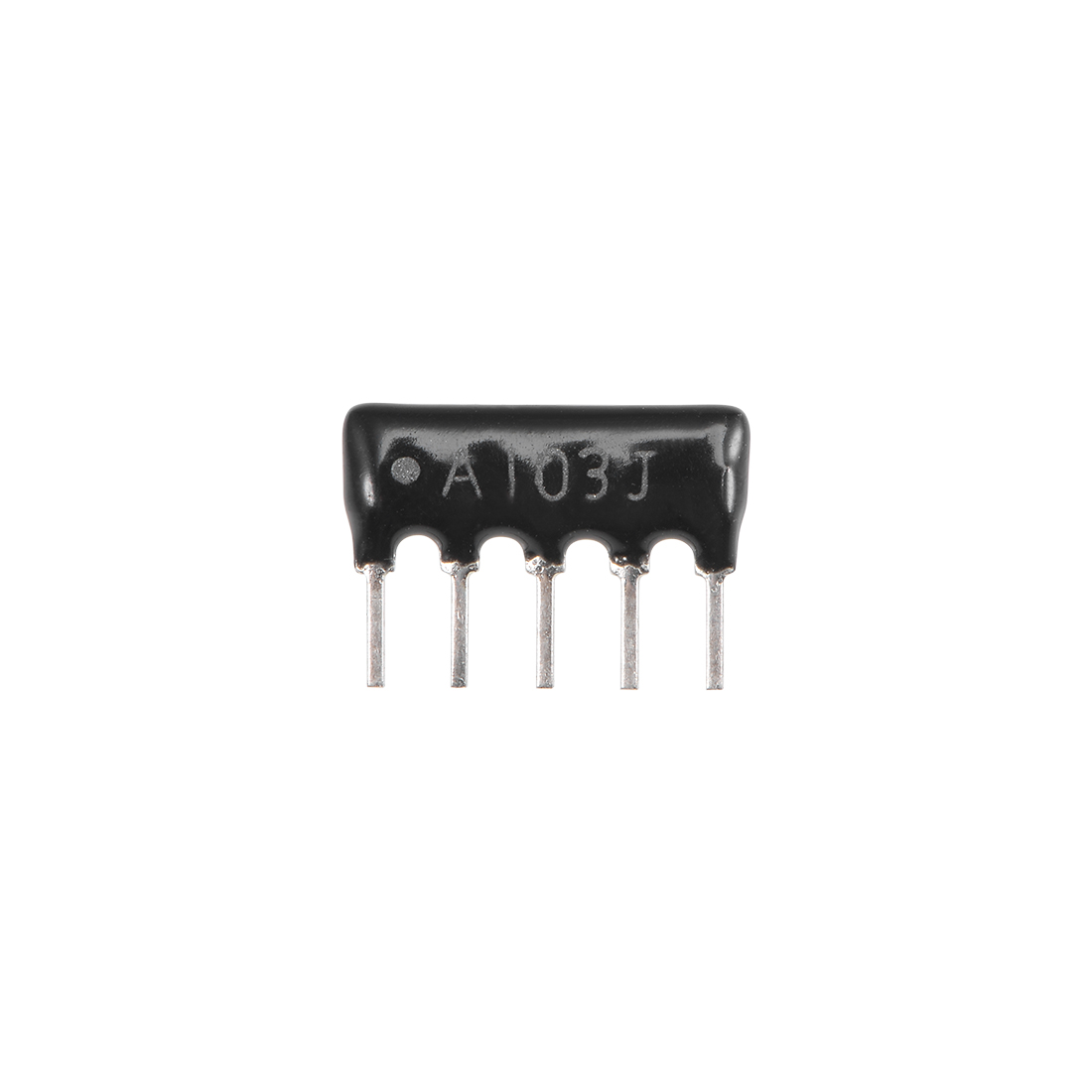 10K Ohm Resistor Network 1/8W SIP-5 Array 2.54mm Bussed Type 5% Tolerance 20pcs