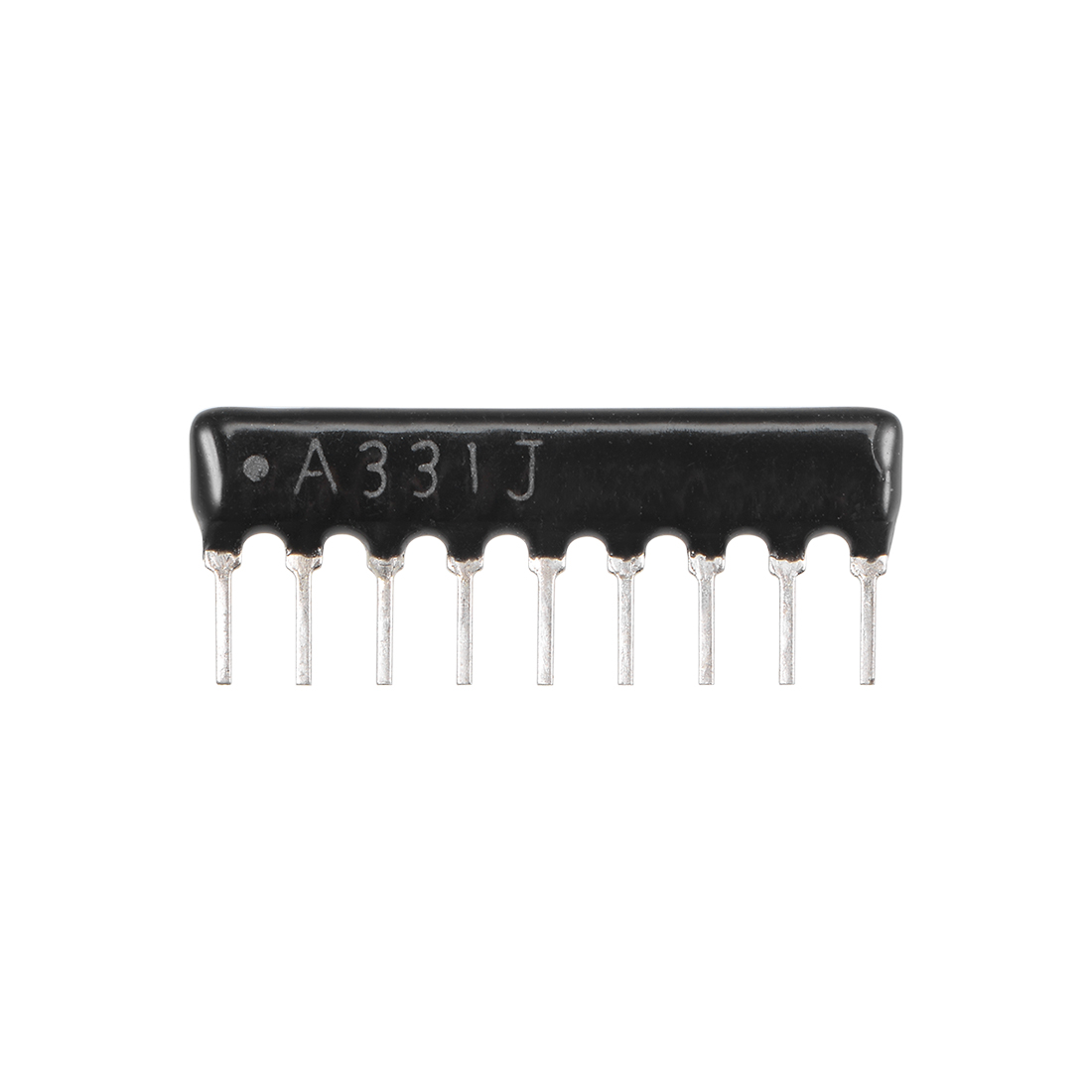330 Ohm Resistor Network 1/8W SIP-9 Array 2.54mm Bussed Type 5% Tolerance 10pcs