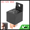 5 Pin DC 12V 80Amp Universal Car Vehicle Relay Switch Power Starter Black