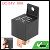 5 Pin DC 24V 80Amp Universal Car Vehicle Relay Switch Power Starter Black