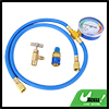 Universal Car AC Air Conditioning Refrigerant Recharge Hose Pressure Gauge