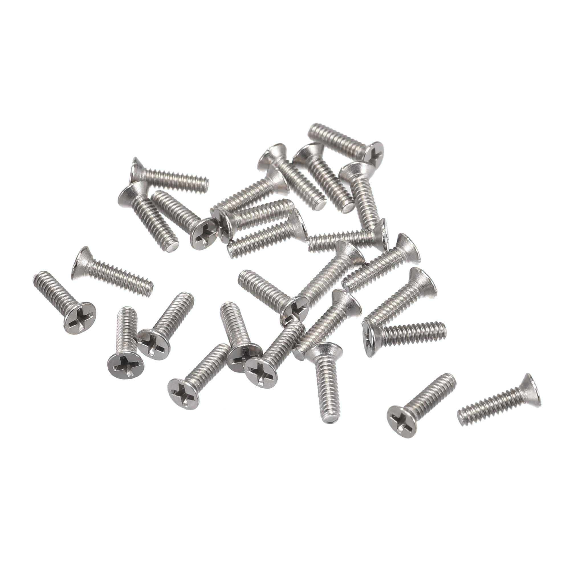 M1.6 x 6mm Tiny Screws Phillips Flat Head Screws Machine Screws 150pcs