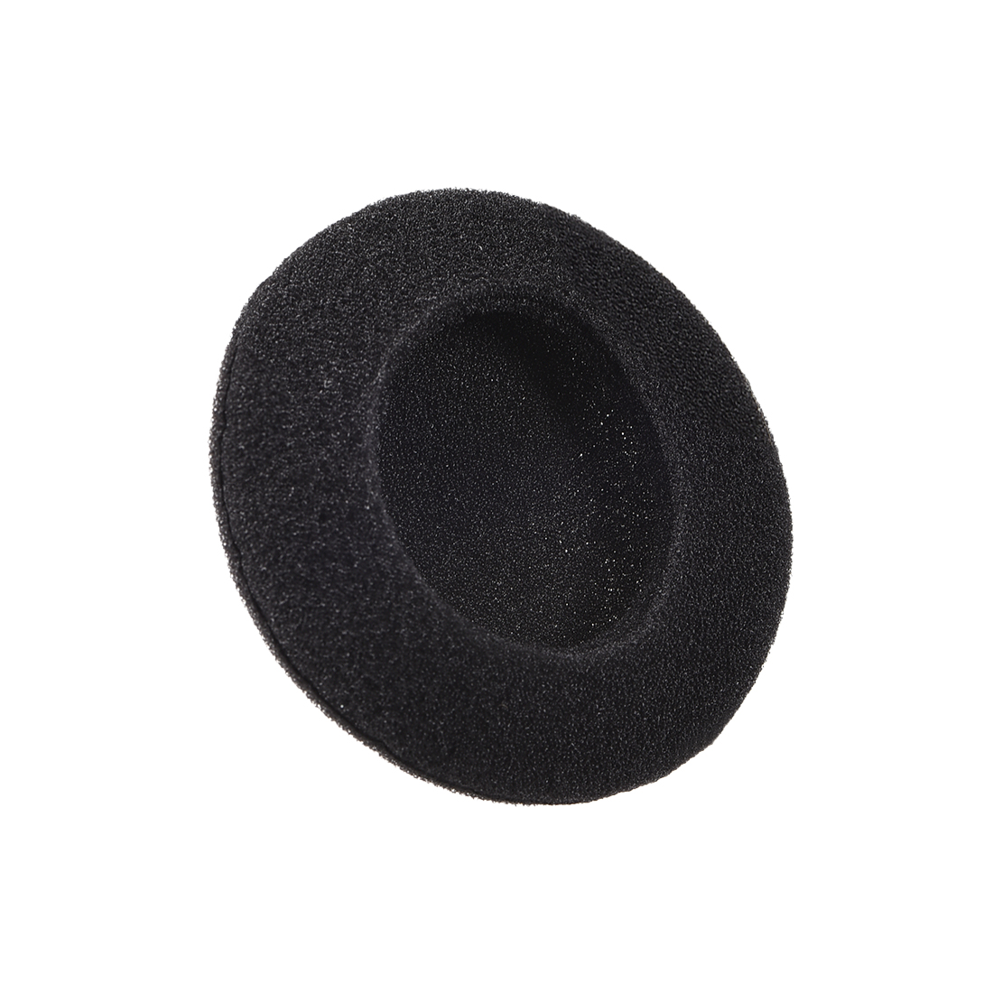 45mm Earphone Foam Ear Pad Sponge Cover For Headphone Headset Black 20pcs