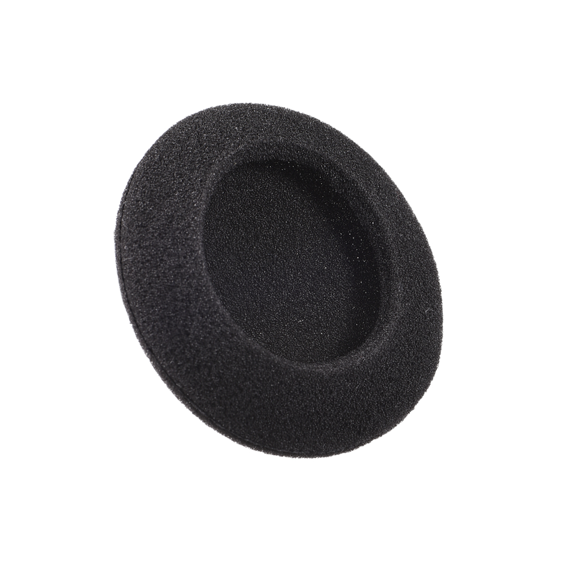 50mm Earphone Foam Ear Pad Sponge Cover For Headphone Headset Black 20pcs