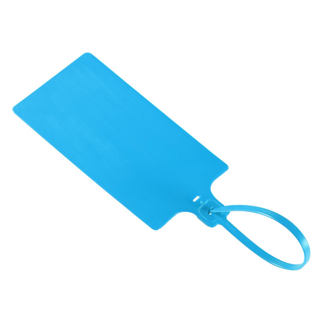 Plastic Zip Ties Seals Anti-Tamper 255mm Length, Blue, Pack of 50