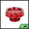 Aluminum Alloy Engine Oil Filler Cap Plug Cover Red for Honda EK Civic EG
