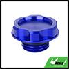 Aluminum Alloy Engine Oil Filler Cap Plug Cover Blue for Honda EK Civic EG