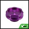 Aluminum Alloy Engine Oil Filler Cap Plug Cover Purple for Honda EK Civic EG