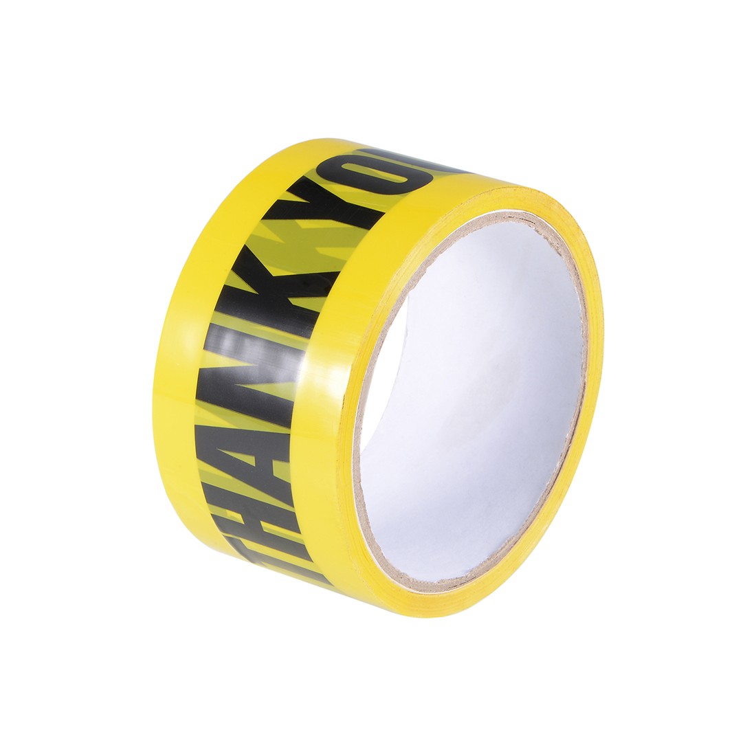 Caution Warning Adhesive Tape Bold THANK YOU Marking 82 Ft x 2 Inch Yellow Black
