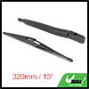 Rear Windshield Wiper Blade Arm Set for 2005-2014 Opel Zafira B - 320mm 13 inch