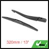 Rear Windshield Wiper Blade Arm Set for 2005-2013 Citroen C1 - 320mm 13 inch