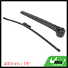 Rear Windshield Wiper Blade Arm Set for 15-20 VW Transporter T6 - 400mm 16 inch