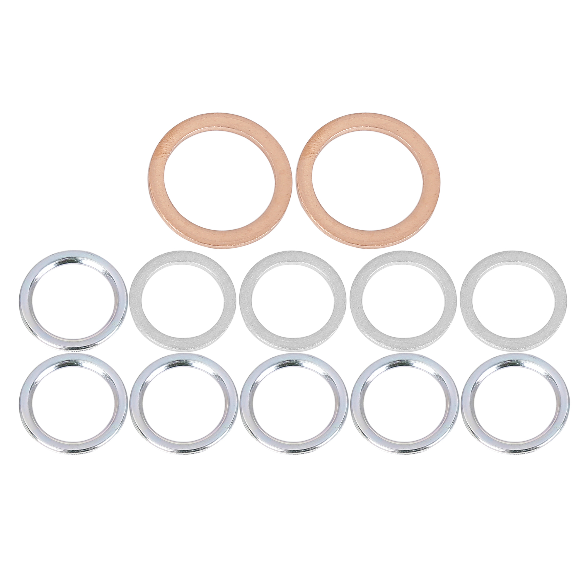 12pcs Oil Drain Plug Gaskets Replacement for Toyota 12157-10010 90430-24003