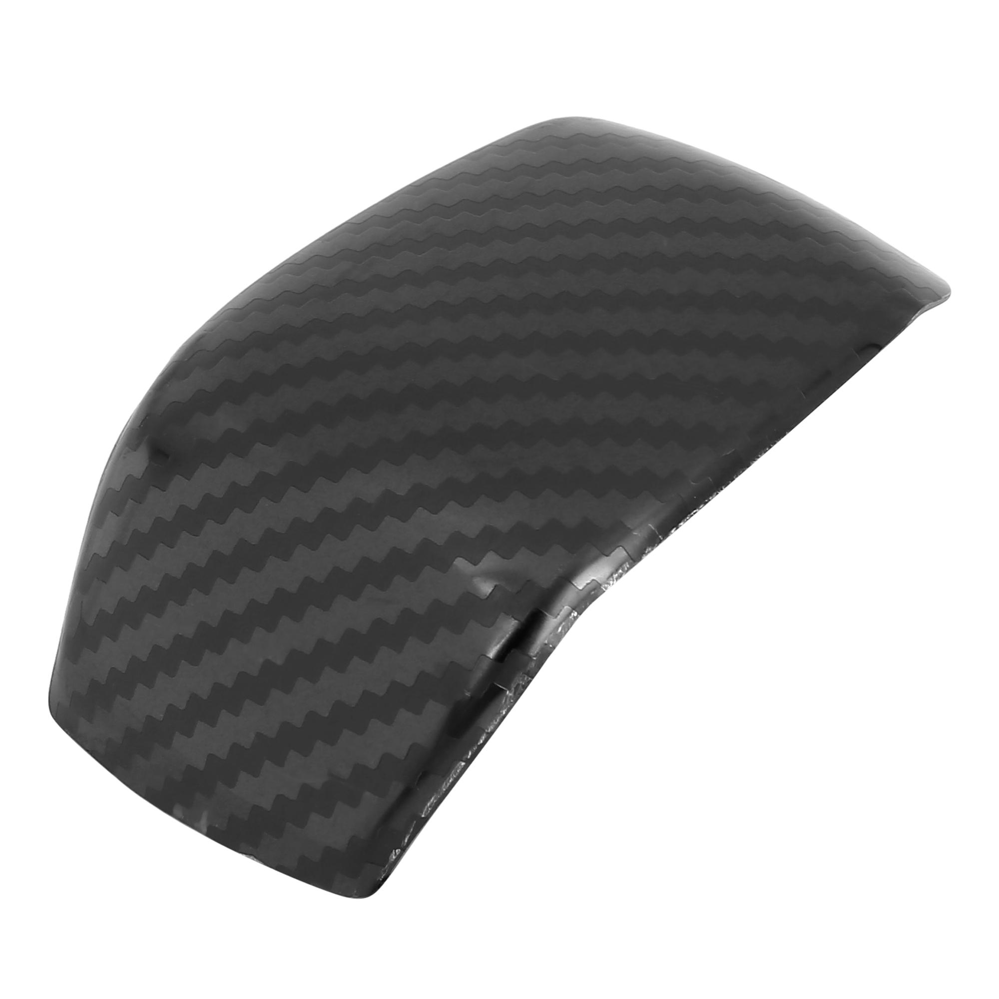 Car Gear Shift Knob Panel Cover Carbon Fiber Pattern for Toyota RAV4 2019-2020