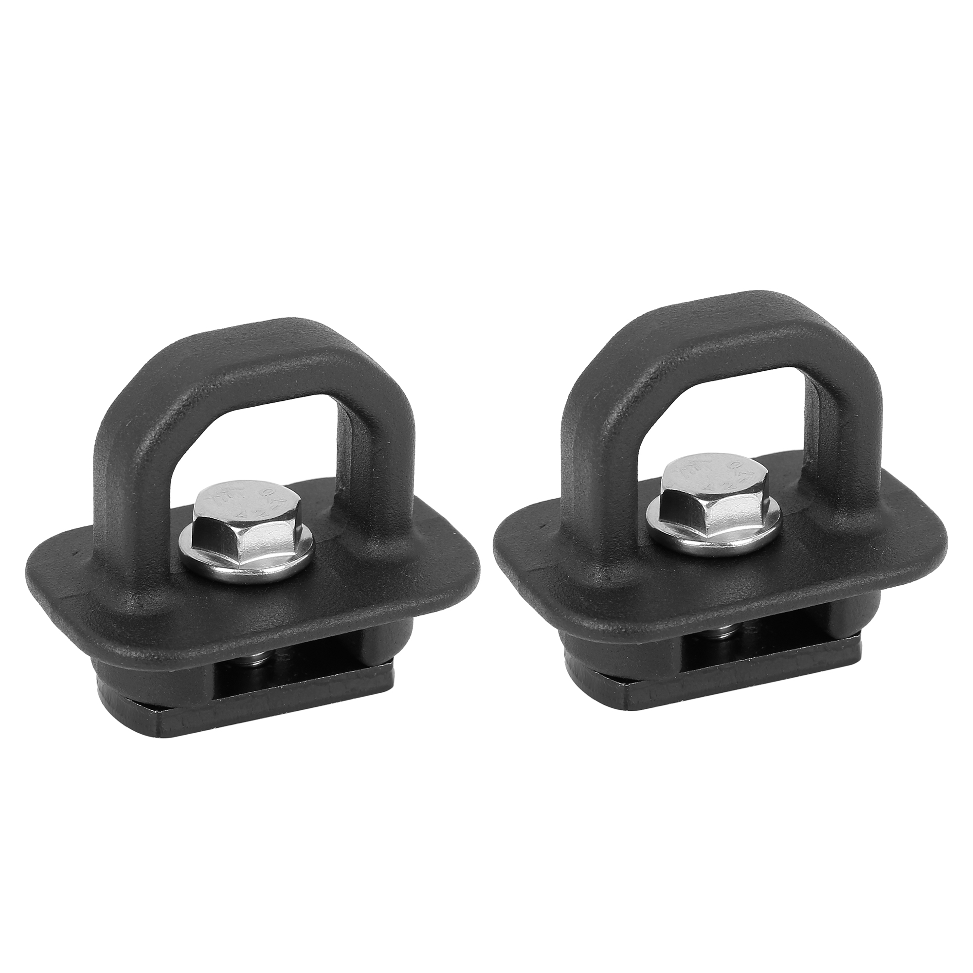 2pcs Black Side Wall Tie Down Anchor for GMC Sierra and for Chevy Colorado