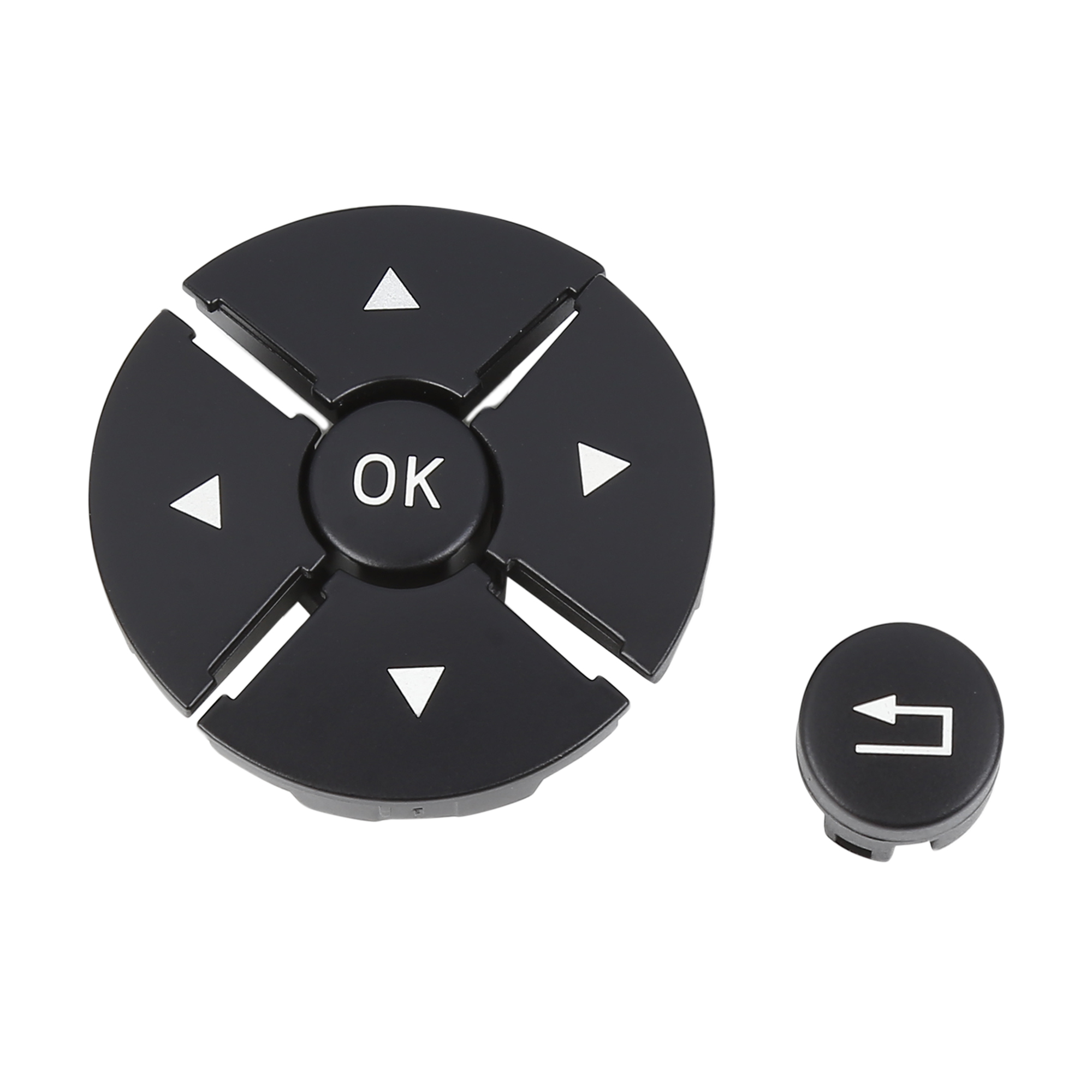 Set Left Steering Wheel Switch Control Button for Benz S-Class W221 Black