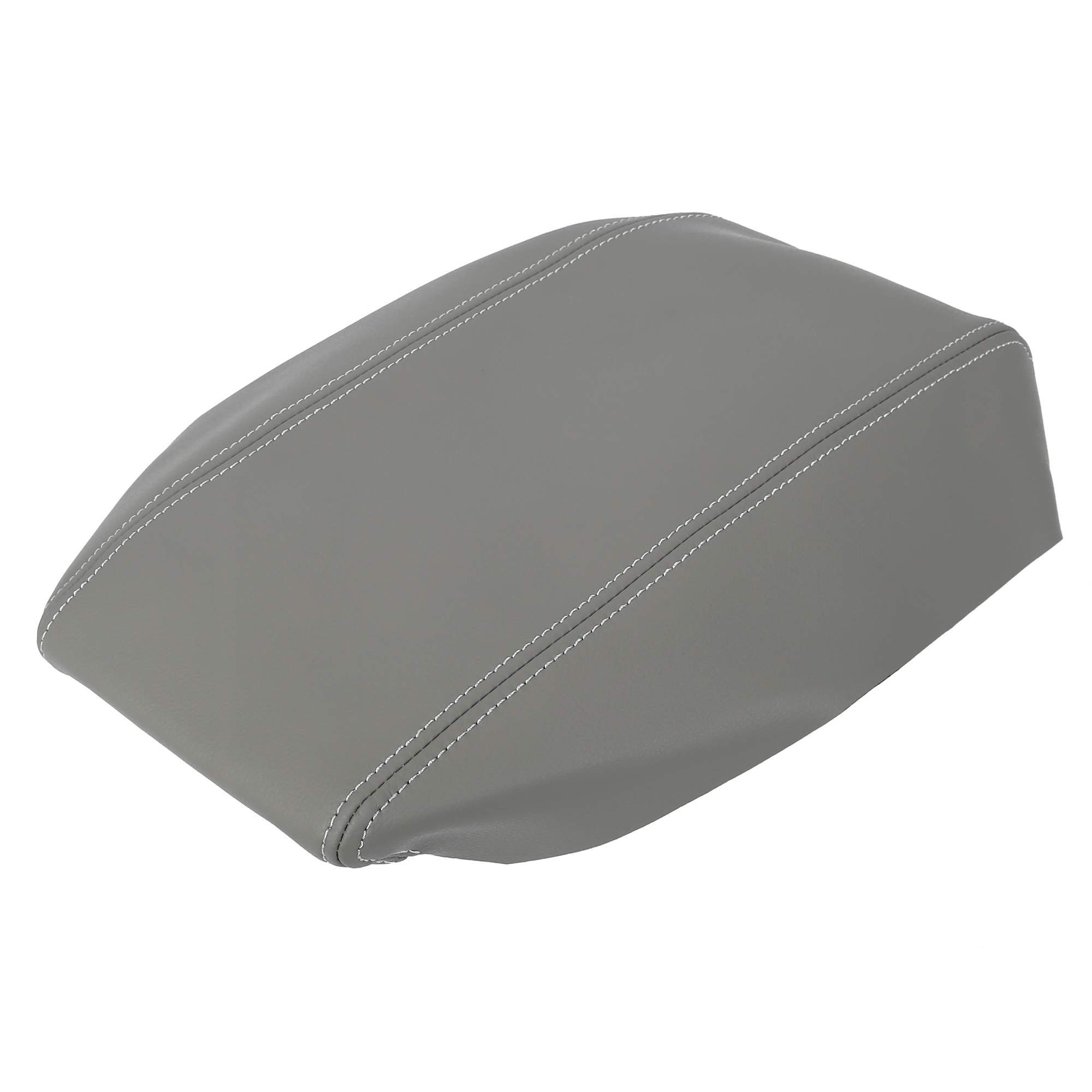 Car Center Console Lid Armrest Pad Cover Gray for Toyota Prius 2004-2009