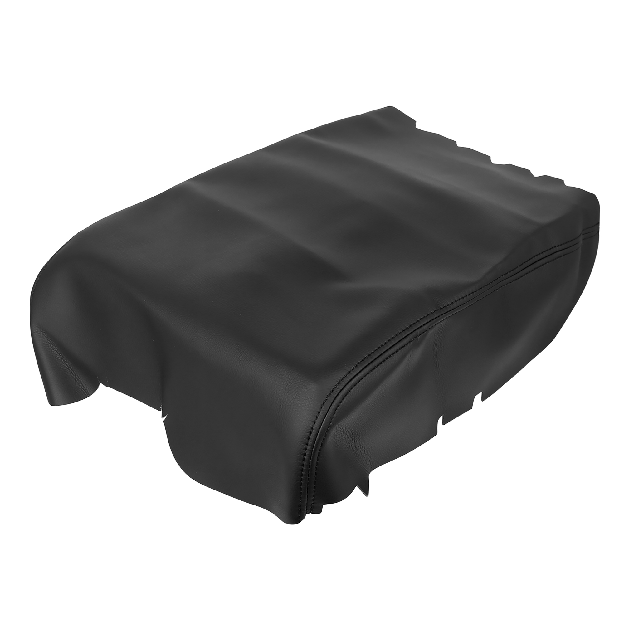 Car Center Console Lid Armrest Pad Cover Black for Toyota Tundra 2008-2013
