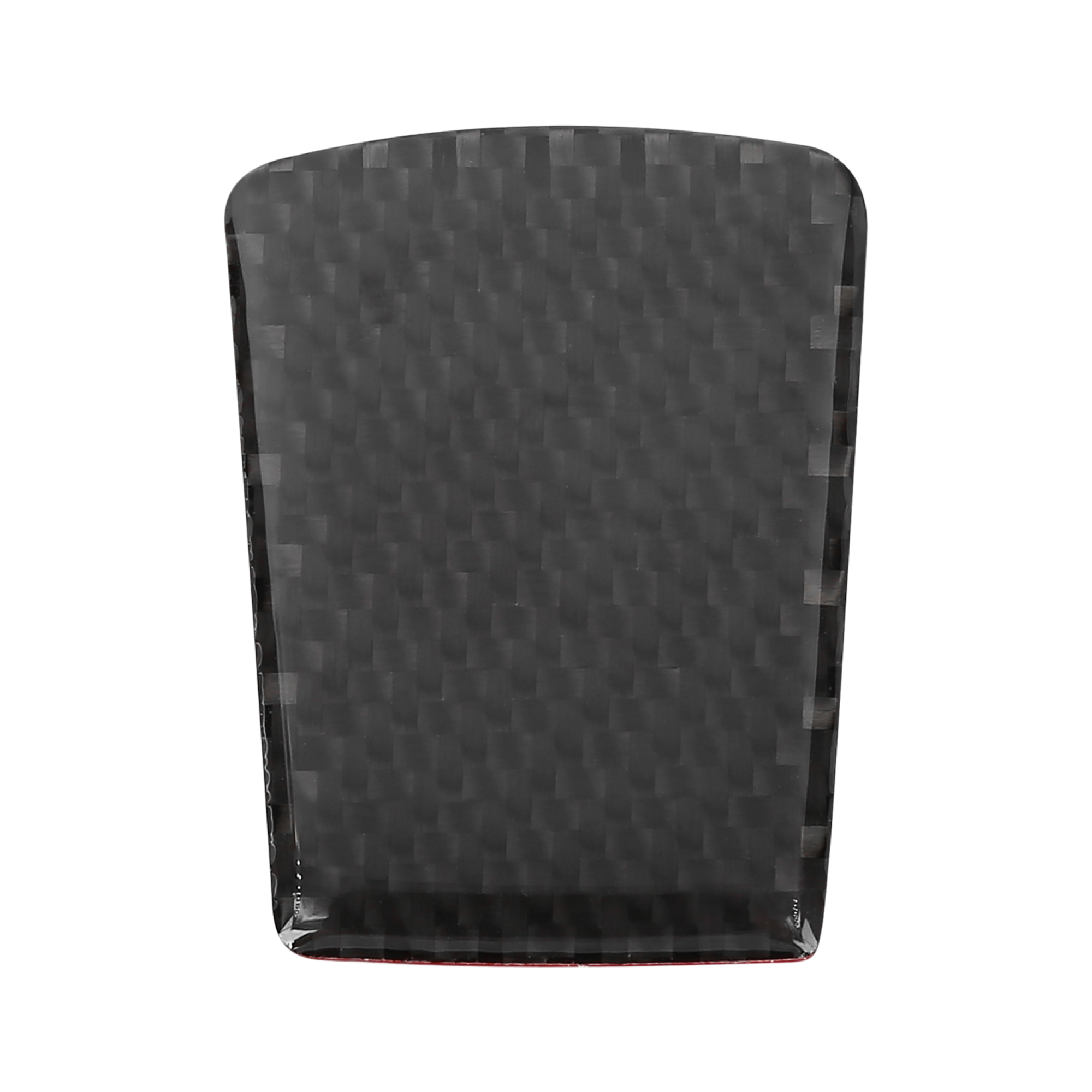 Car Vehicle Steering Wheel Trim Cover Carbon Fiber Pattern Black for Subaru