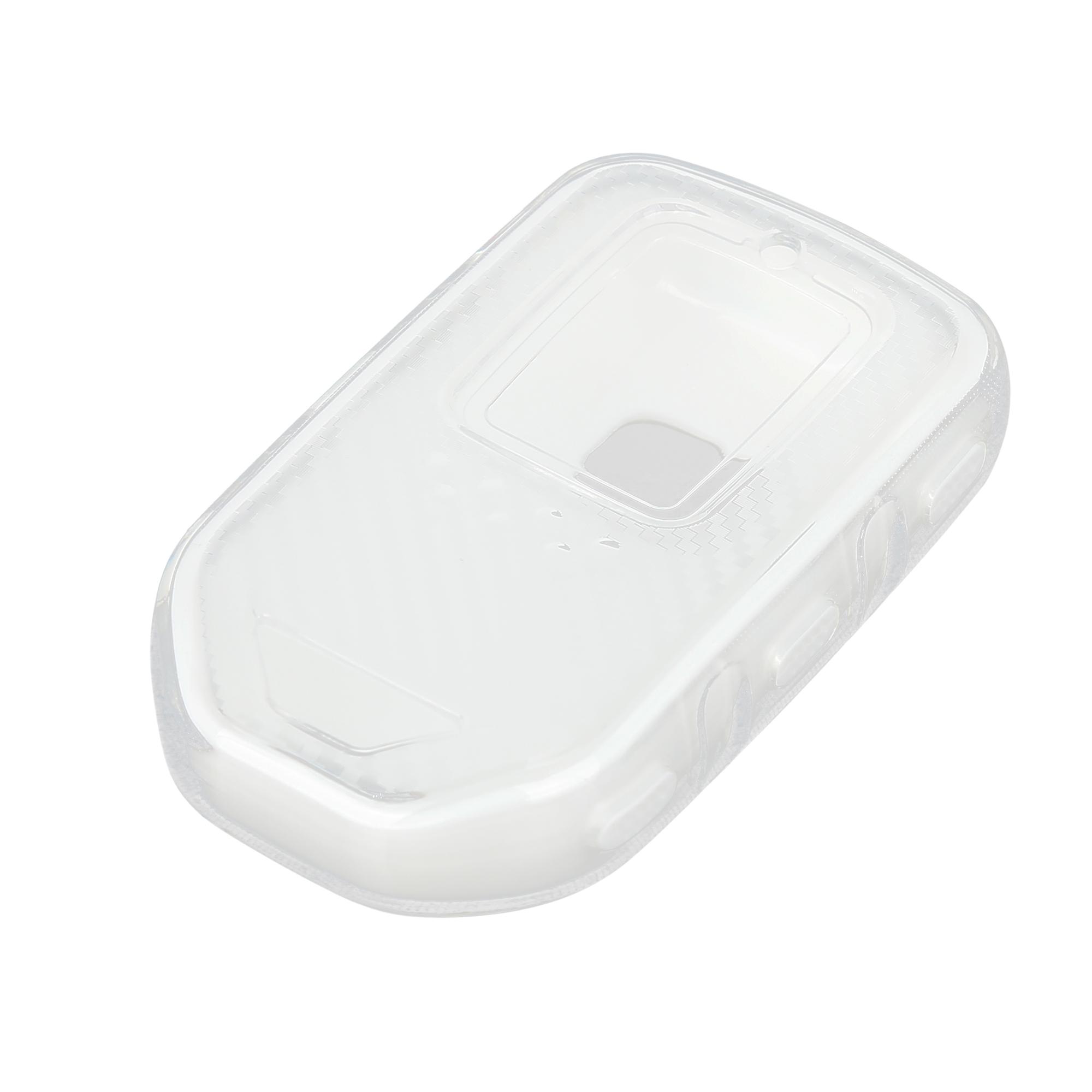 Keyless Remote Key Case Key Fob Shell Cover Case for Honda Accord Civic White