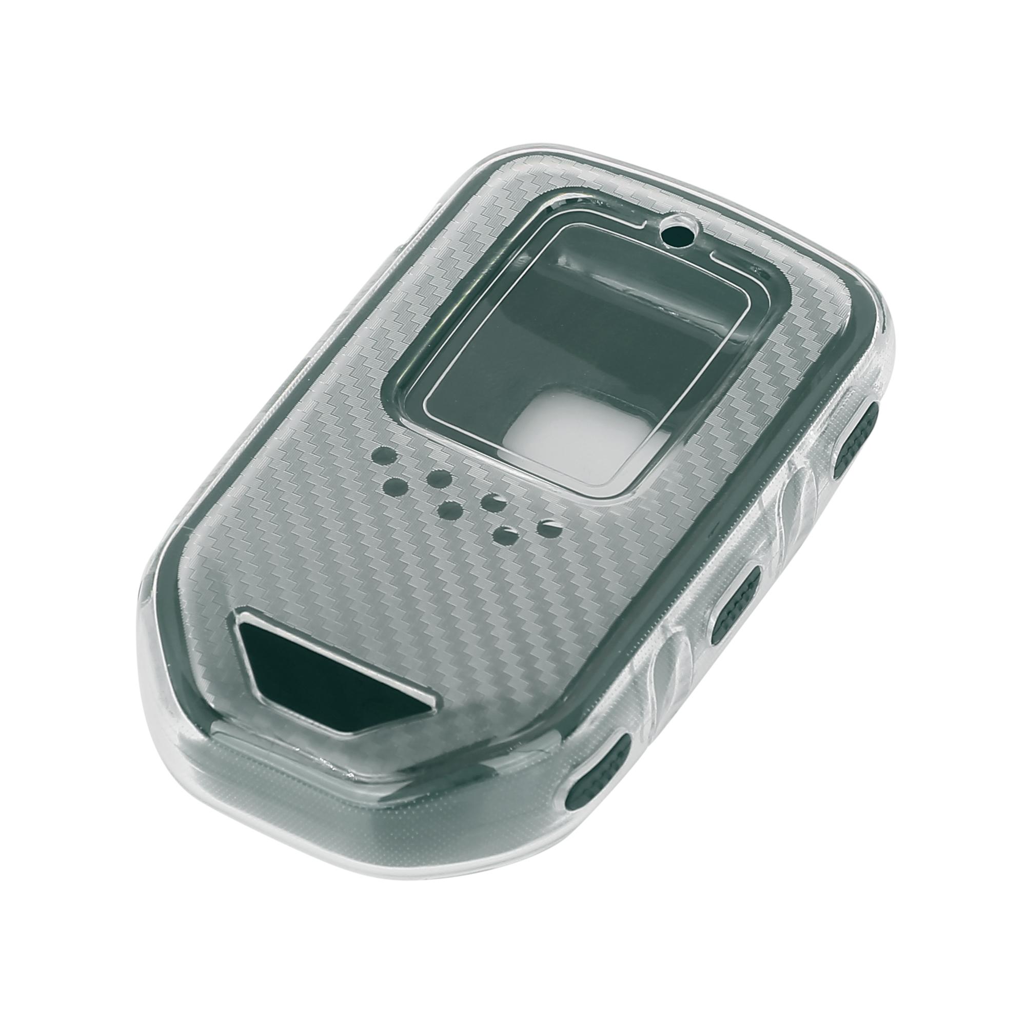 Keyless Remote Key Case Key Fob Shell Cover Case for Honda Accord Dark Green