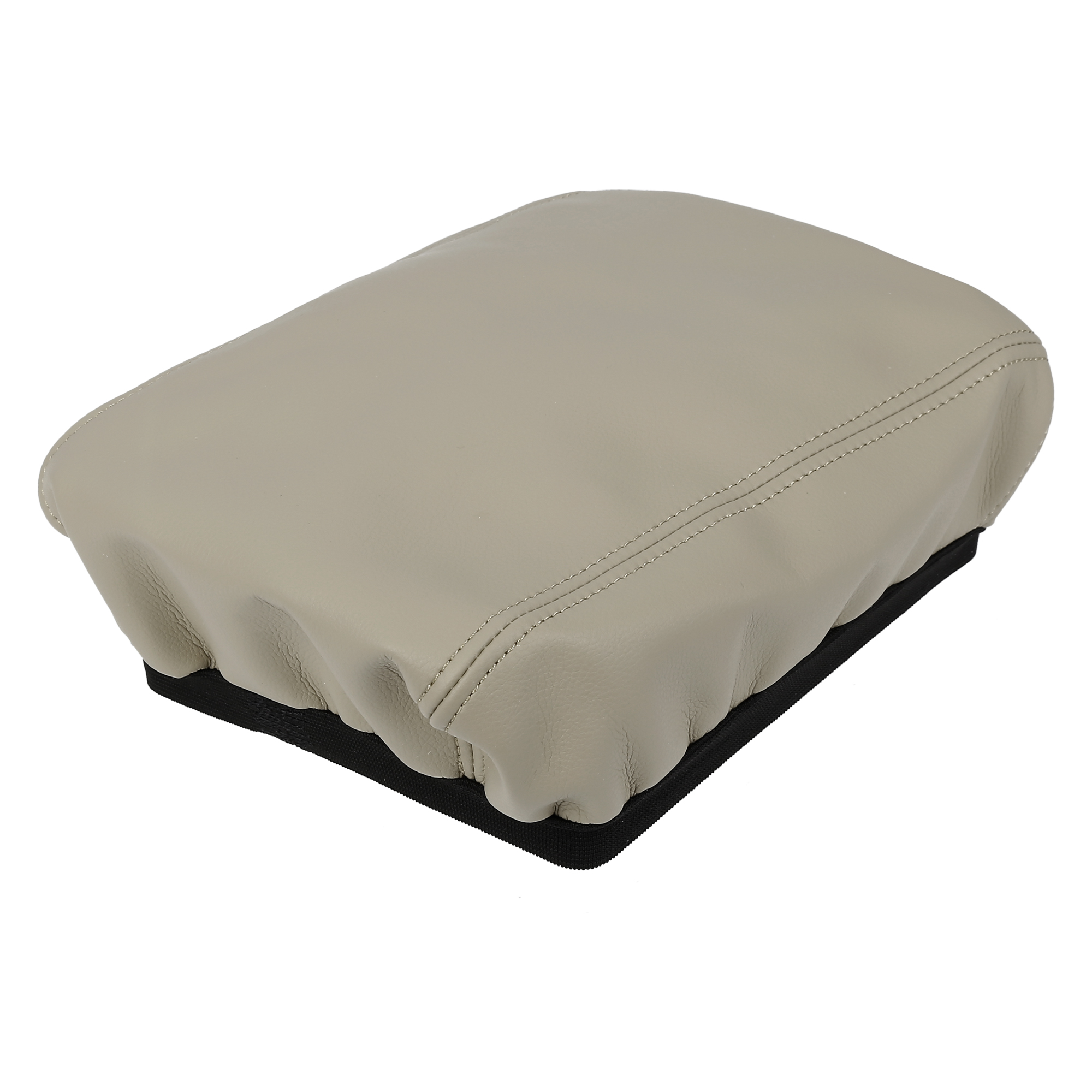 Car Center Console Armrest Pad Cover Protector Beige for Mazda CX5 2018-2020