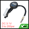 Car Bike Inner Tube Digital Tire Inflator with Pressure Gauge 0 to 200 PSI