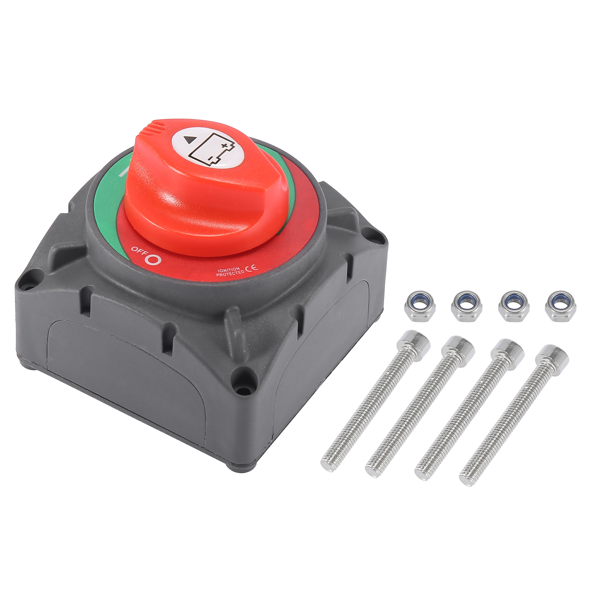 Battery Switch Kit 12V to 48V 600A Car Boat Battery Master Disconnect Switch