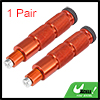 1 Pair Orange Universal Motorcycle Bicycle Foot Rest Pedal 8mm Install Bolts