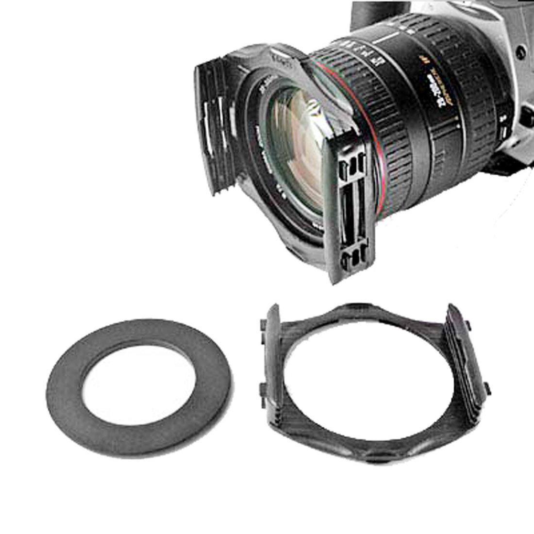Camera Filter Holder & Adapter Ring - 55mm Diameter